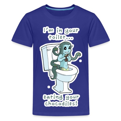 Toilet Medusa for kids! - Kids' Premium T-Shirt
