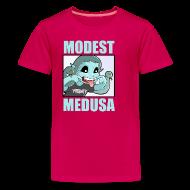 Kids' Shirts ~ Kids' Premium T-Shirt ~ Teasing Medusa for kids!