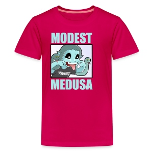 Teasing Medusa for kids! - Kids' Premium T-Shirt