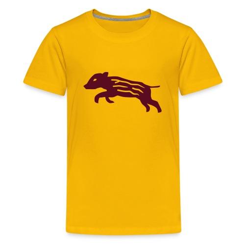 shirt baby wild boar hunter hunting forest animals nature pig rookie shoat - Kids' Premium T-Shirt