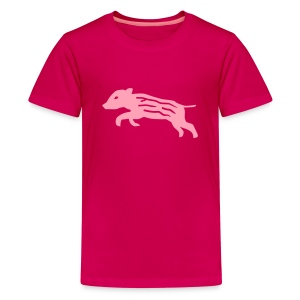 shirt baby wild boar hunter hunting forest animals nature pig rookie shoat - Kids' Premium T-Shirt