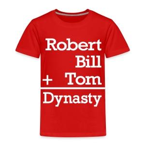 Dynasty Builders - Toddler Premium T-Shirt