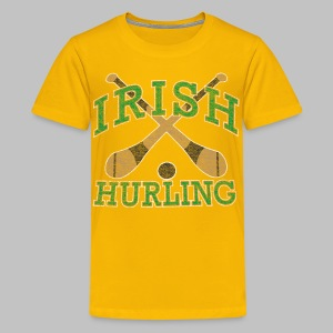 Irish Hurling - Kids' Premium T-Shirt