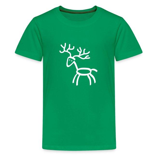t-shirt stag deer moose elk antler antlers horn horns cervine hart bachelor party hunting hunter