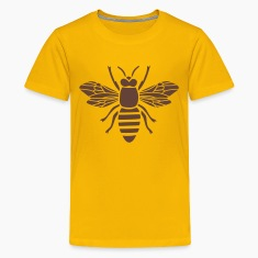 bee i love honey bumble bee honeycomb beekeeper wasp sting busy insect wings wildlife animal Kids' Shirts