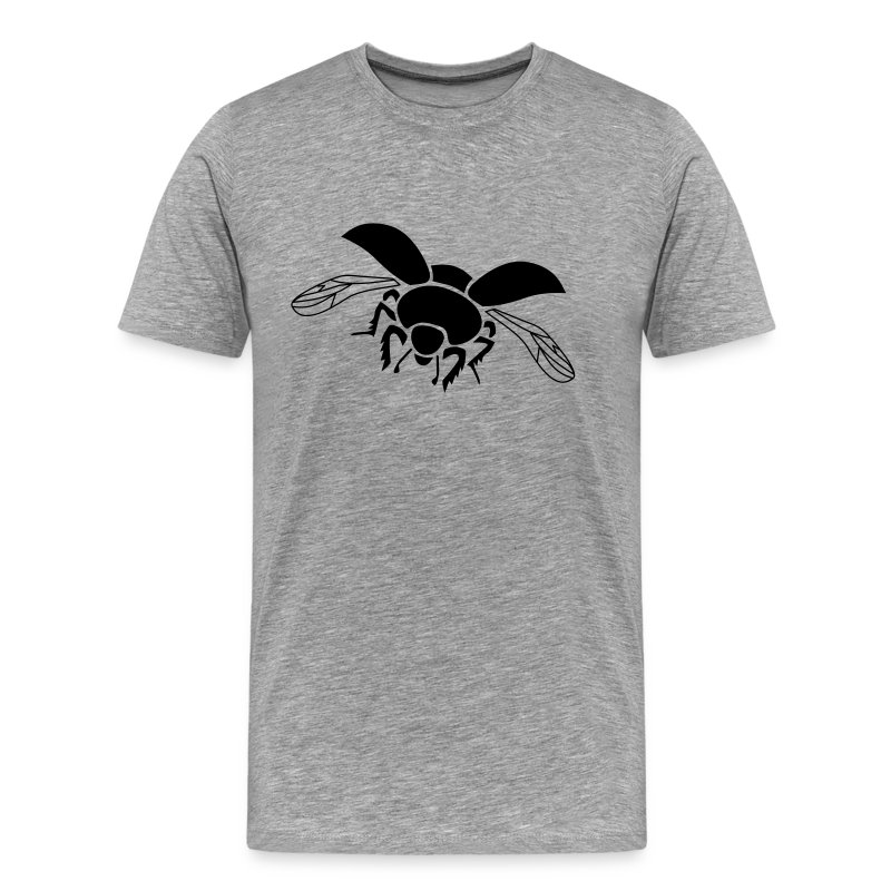 t-shirt dung beetle wings insect fly - Men's Premium T-Shirt