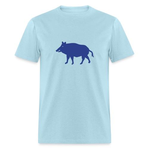 t-shirt wild boar hunter hunting forest animals nature pig rookie shoat - Men's T-Shirt