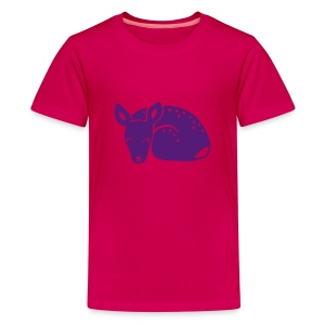 t-shirt fawn kid deer timid cute bambi animal baby - Kids' Premium T-Shirt