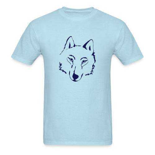 t-shirt wolf pack wolves howling wild animal - Men's T-Shirt