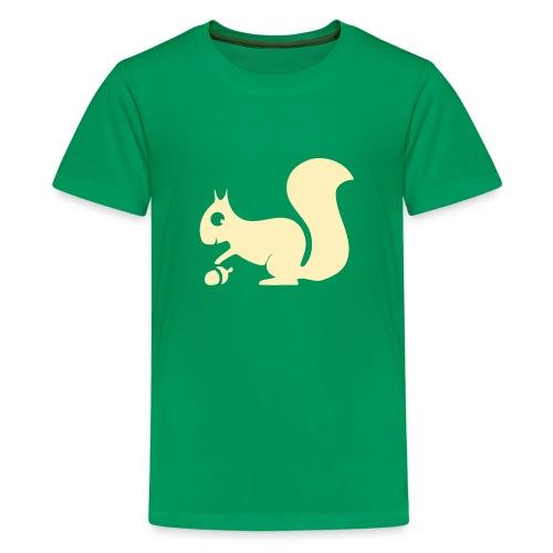 t-shirt squirrel acorn chipmunk tree forest animal - Kids' Premium T-Shirt