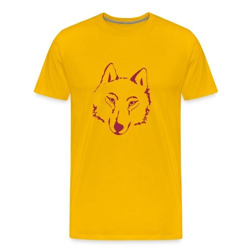 t-shirt wolf pack wolves howling wild animal - Men's Premium T-Shirt