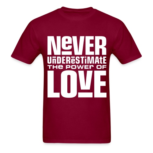 Underestimated Love Tee - Men's T-Shirt