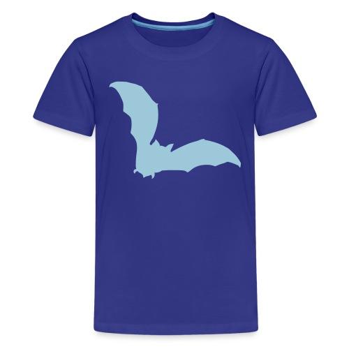 t-shirt bat wings vampire night halloween dracula blood - Kids' Premium T-Shirt