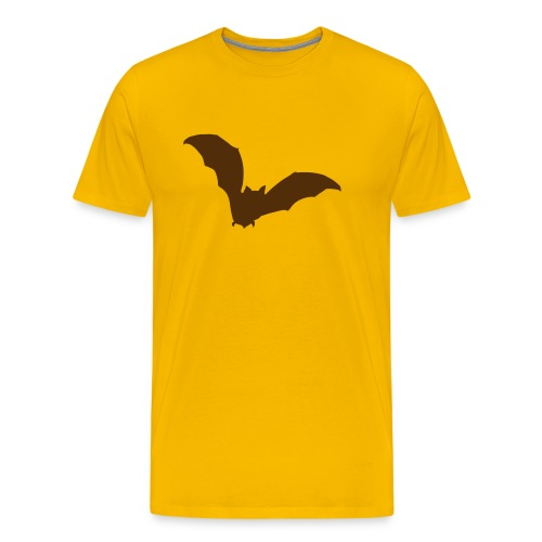 t-shirt bat wings vampire night halloween dracula blood - Men's Premium T-Shirt