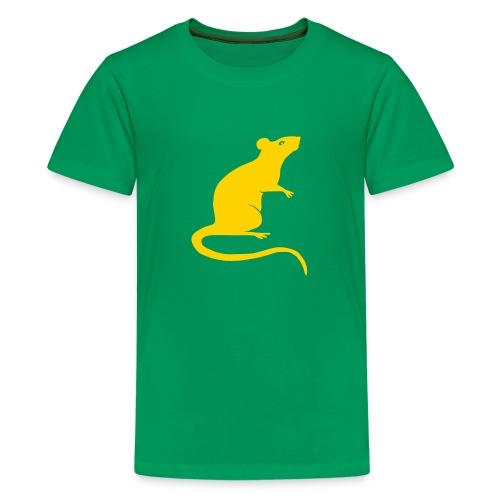 t-shirt rat rats duo ratty mouse mice animal - Kids' Premium T-Shirt