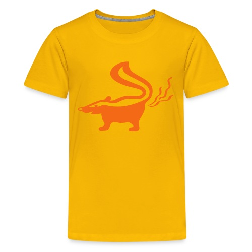 t-shirt skunk animal stinker skunkish - Kids' Premium T-Shirt
