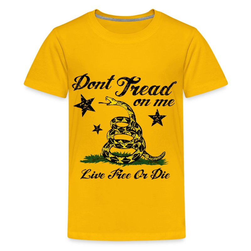 Dtom live free or die t shirt spreadshirt for Be creative or die shirt
