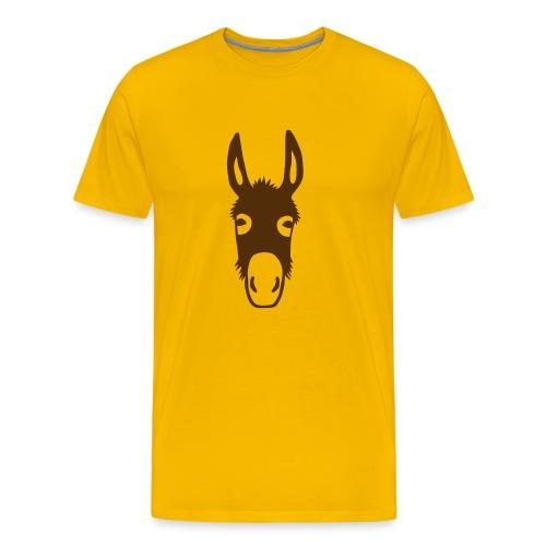 t-shirt donkey mule horse muli pony animal t-shirt - Men's Premium T-Shirt