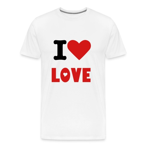 I Love Love - Men's Premium T-Shirt