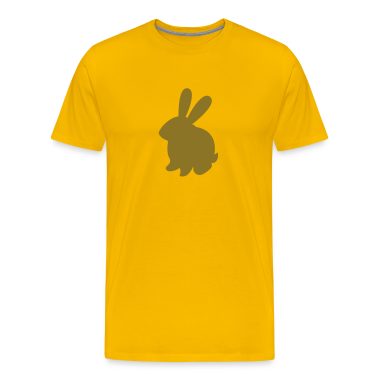 simple bunny rabbit with cute large ears T-Shirts
