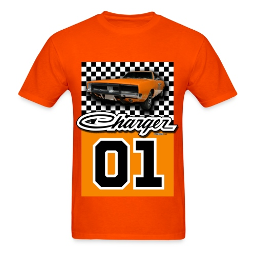 General Lee Charger Men's Heavyweight T-Shirt - Men's T-Shirt