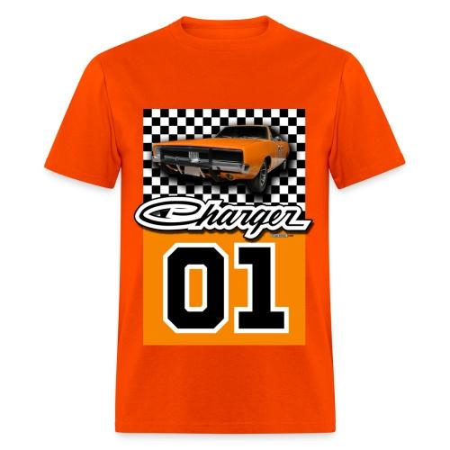 General Lee Charger Men's Heavyweight T-Shirt - Men's T-Shirt
