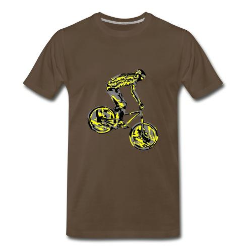 Mountain Bike Shirt - Men's Premium T-Shirt