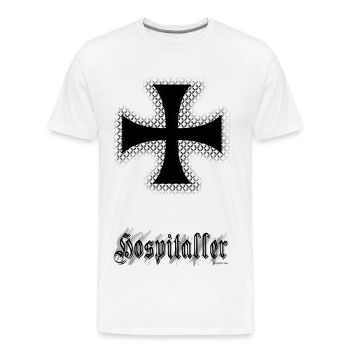 Hospitaller Knight natural T - Men's Premium T-Shirt