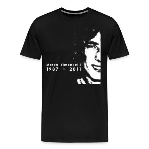 Tribute to 58 MotoGP - Men's Premium T-Shirt