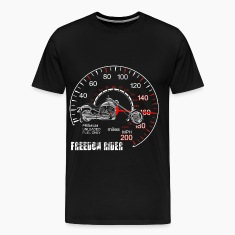 Freedom Rider MotorCycle Chopper 2 White T-Shirts