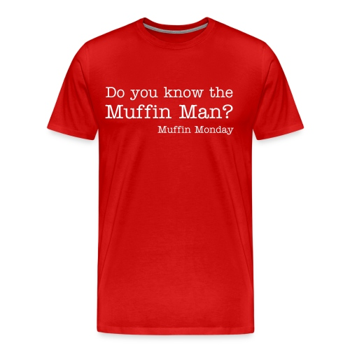 Muffin Man - Men's Heavyweight T-Shirt - Men's Premium T-Shirt