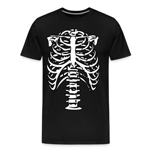 Men's Premium T-Shirt - skeleton,halloween