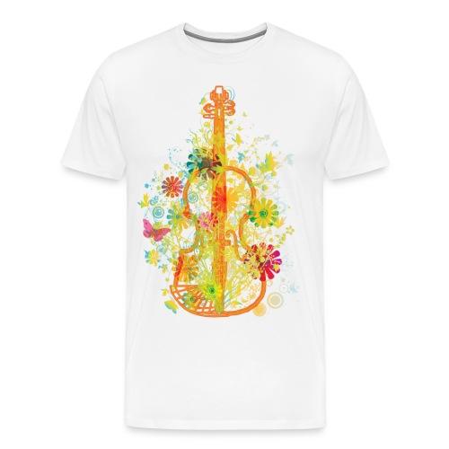 Orange Cello - Men's Premium T-Shirt