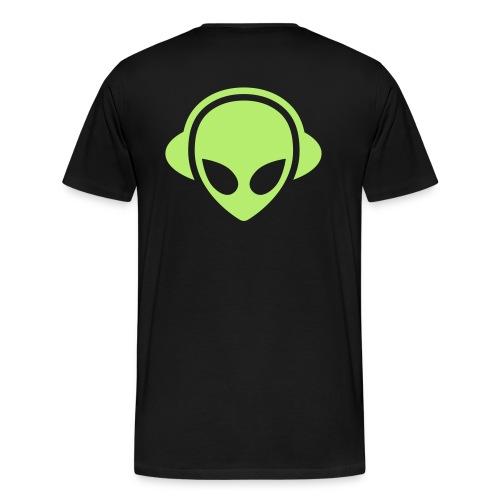 Men's Alien Braille - Men's Premium T-Shirt