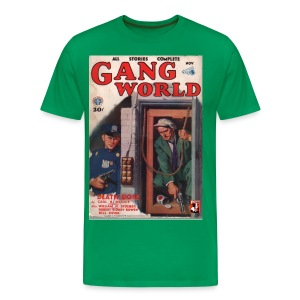 Gang World Pulp Cover 3XL - Men's Premium T-Shirt