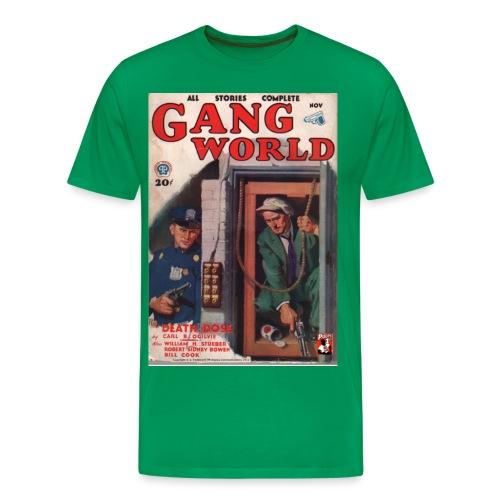 Gang World Pulp Cover 3XL - Men's Premium T-Shirt
