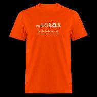 T-Shirts ~ Men's T-Shirt ~ webOS.O.S (white) Men's Heavyweight T-Shirt