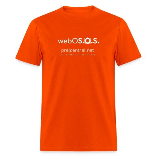 webOS.O.S (white) Men's Heavyweight T-Shirt - Men's T-Shirt