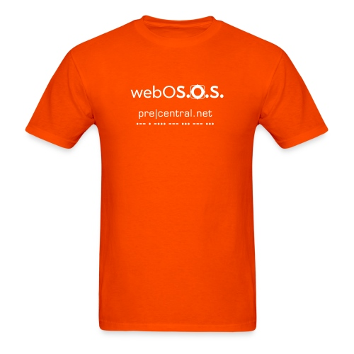 webOS.O.S (white) Men's Heavyweight T-Shirt - Men's T-Shirt