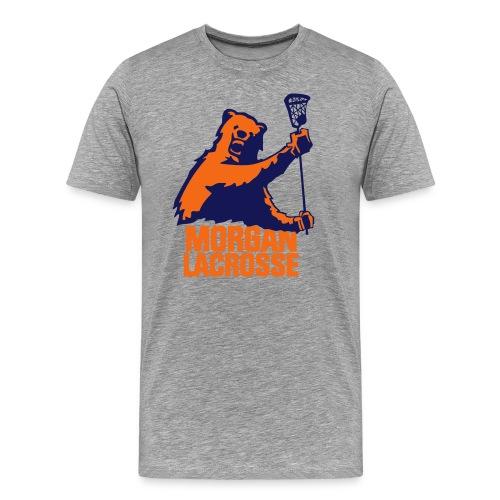 Morgan State Lacrosse Tee (Plain) - Men's Premium T-Shirt
