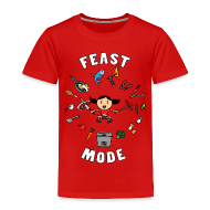Baby & Toddler Shirts ~ Toddler Premium T-Shirt ~ Feast Mode (Toddler)