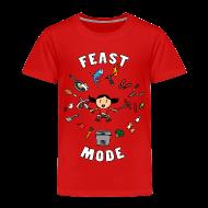 Baby & Toddler Shirts ~ Toddler Premium T-Shirt ~ Feast Mode (Toddler)