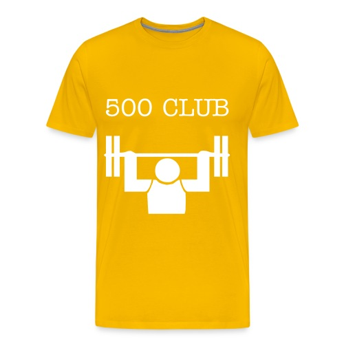 500 Club - Men's Premium T-Shirt
