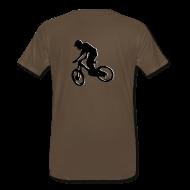 T-Shirts ~ Men's Premium T-Shirt ~ Mountain Bike Shirt - What's Up Dawg?