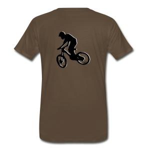 Mountain Bike Shirt - What's Up Dawg? - Men's Premium T-Shirt