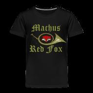Baby & Toddler Shirts ~ Toddler Premium T-Shirt ~ Machus Red Fox