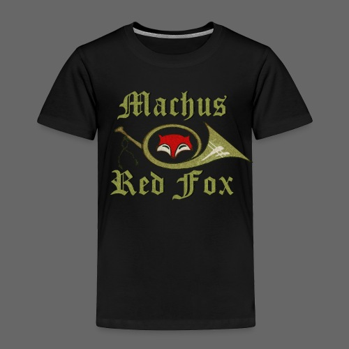 Machus Red Fox - Toddler Premium T-Shirt