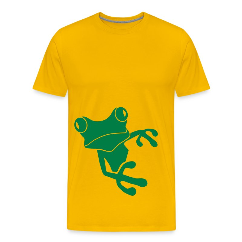 t-shirt frog princess prince kiss me toad squib paddock pout frogmouth mouth lips - Men's Premium T-Shirt