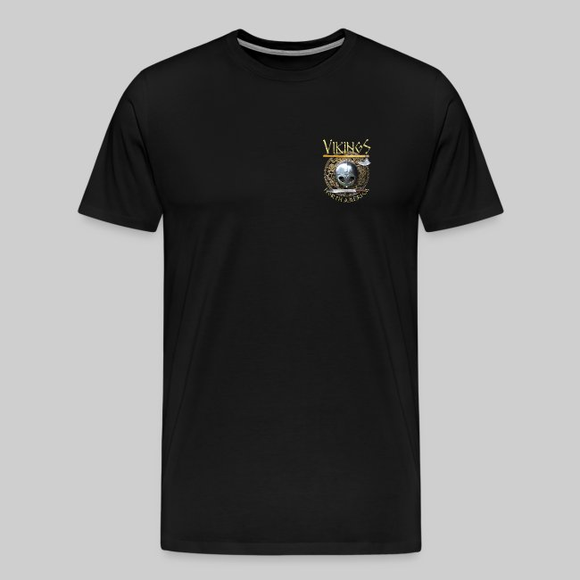 Vikings North America T-Shirt - Logo Front/Logo Back