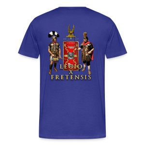 Legio X Fretensis T-Shirt - Placement: Left Chest & Back - Men's Premium T-Shirt